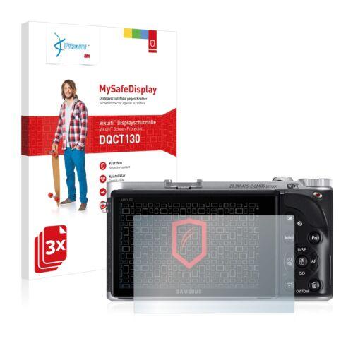 3x Vikuiti Schutzfolie DQCT130 von 3M für Samsung NX300