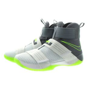 new product 79583 0ee3a Details about Nike 844378 Mens Lebron Soldier 10 SFG Performance Basketball  Shoes Sneakers