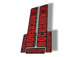 Rock Shox REBA 2018 Fork Decal Mountain Bike Cycling Sticker Adhesive Purple