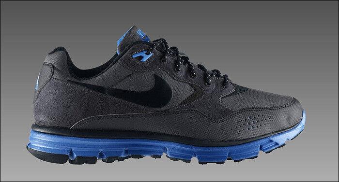 2010 Nike LunarWood+ ACG QS Sample SZ 9 396573-004 Black Shadow Sapphire Blue 396573-004 9 368f3b