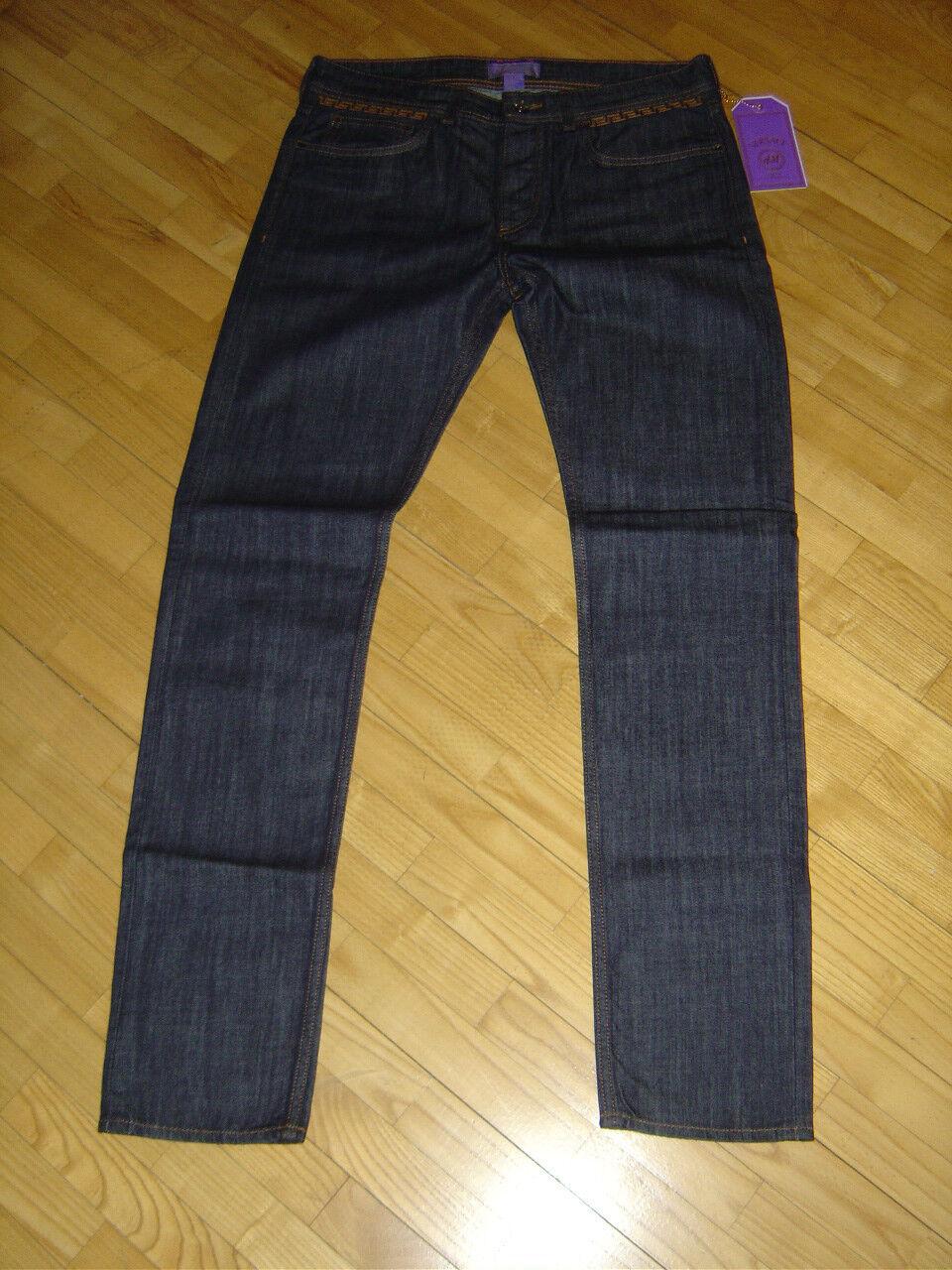 Versace for H&M Jeans Cruise Collection Pants Hose Größe Größe W34 neu new