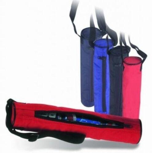 3-Can isolé tube Refroidisseur avec Main Fermeture Éclair Rouge 620601