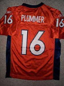 fb10e0219d6 Image is loading ORANGE-Reebok-Denver-Broncos-JAKE-PLUMMER-nfl-THROWBACK-