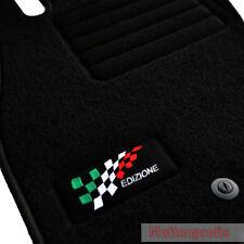 Velours Logo Edition Fußmatten für Fiat Grande Punto 199 ab Bj.10/2005 -