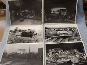 Details about Vintage 1940's -1950's Police Accident Photos, Lake County  Indiana - 24 Photos
