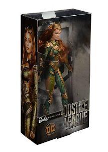 Barbie Signature Series Justice League Mera Doll Figure