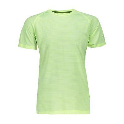 100% Vero Funzione Cmp Maglietta Shirt Boy T-shirt Verde Chiaro Traspirante Antibatterico-mostra Il Titolo Originale Prezzo Ragionevole