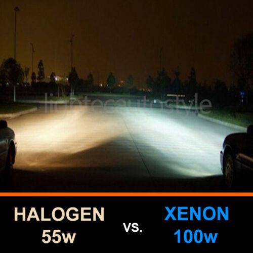 H7 100W HID WHITE XENON HALOGEN BULBS 12V PLASMA UPGRADE 6000k AUDI BMW FORD VW