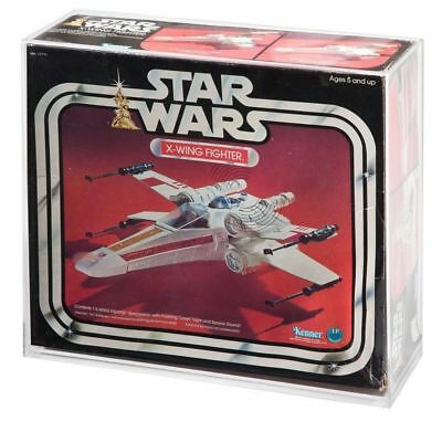 AVC-013 STAR WARS ACRYLIC DISPLAY CASES AVC-005 /& TIE FIGHTER X-WING