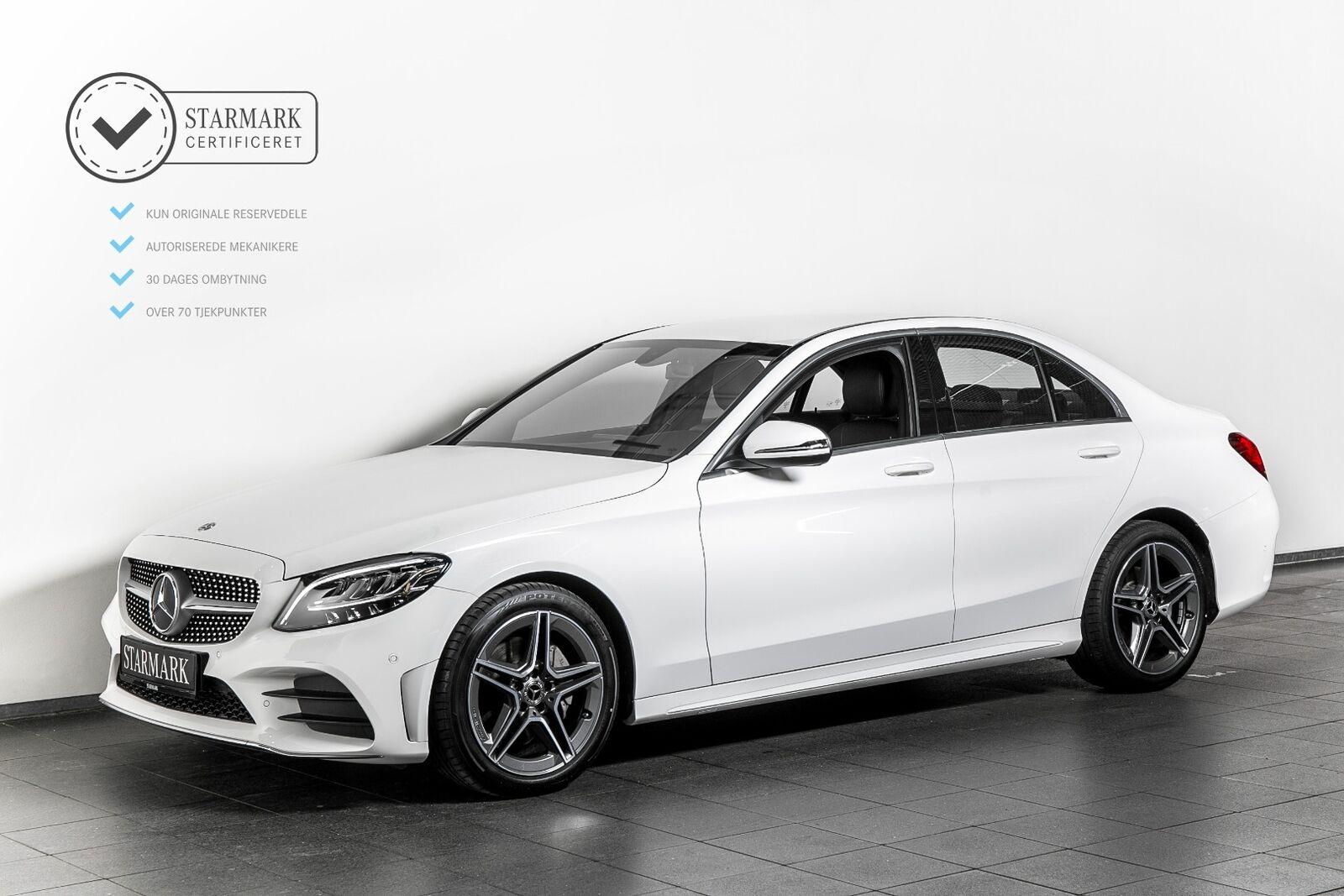 Mercedes C200 1,5 AMG Line aut. 4d - 424.900 kr.