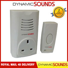 item 3 Wireless Cordless Plug in Through DoorBell Door Bell Chime Ringer 16 Melodies -Wireless Cordless Plug in Through DoorBell Door Bell Chime Ringer 16 ...  sc 1 st  eBay & Homebase HB312 Plug Through Wirefree Wireless Chime Bell Doorbell No ...