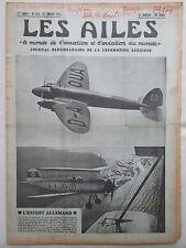 AILES 1937 814 HE-111 HE-72 HA-139 NORTH AMERICAN NA-16 PSV TSF POU UNIPLAN
