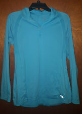 84bb6254 Womens Champion C9 Premium 1/4 Zip Pullover Fitted Duo Dry Max Size ...