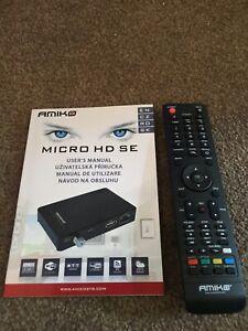 GENUINE Amiko replacement remote Control for 8140,8150,Micro,Mini Combo HD