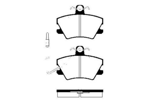 Bremsbeläge Bremsbelagsatz Bremsklötze vorne für Renault Clio 1 2 Twingo 1 2