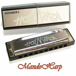 Hohner-Harmonica-572-20-Hot-Metal-SELECT-KEY-NEW