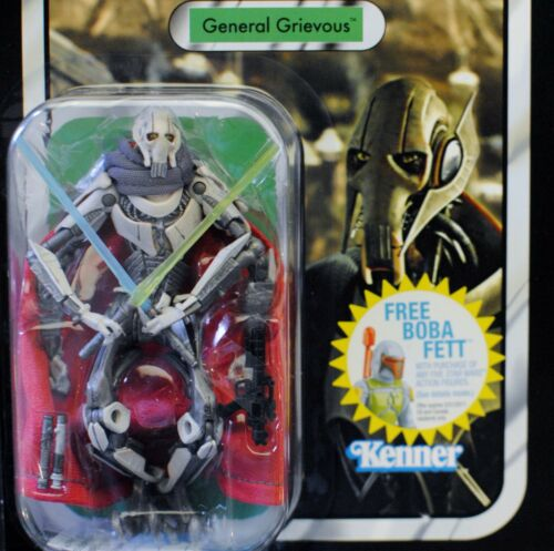 Star Wars Vintage Collection VC17 General Grievous ROTS MOC Action Figure TVC