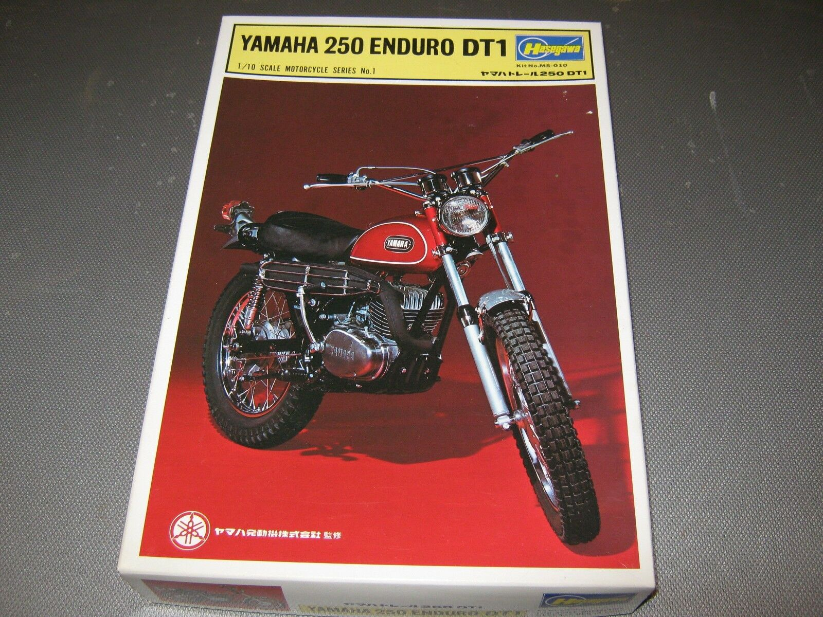 Hasagawa  plastic kit of a Yamaha  DT250, parts in sealed bags,