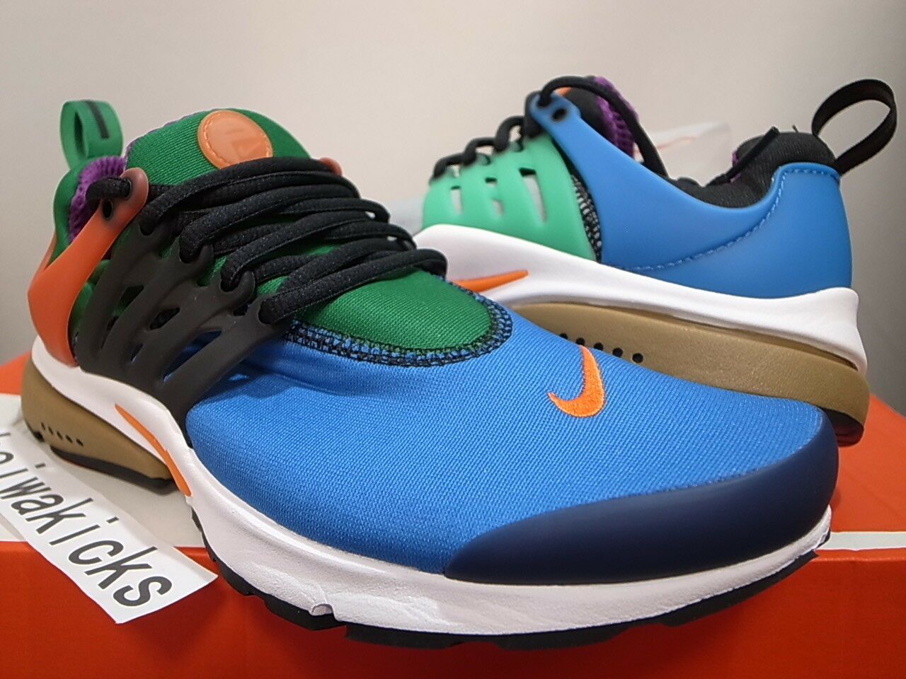2016 NIKE AIR PRESTO QS GREEDY BEAMS WHAT THE MULTI-COLOR 886043-400 size 8