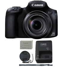 Canon PowerShot SX60 HS 16.1MP 65x Optical Zoom Wifi / NFC Digital Camera Black