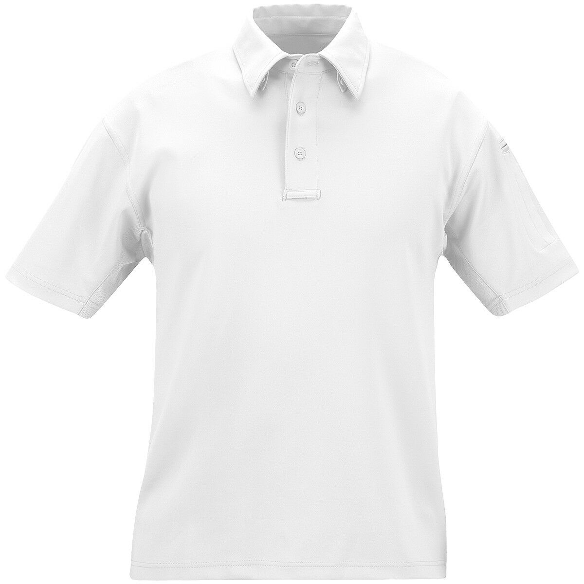 Propper I.C.E. Mens Performance Short Sleeve Polo Army Military Security White