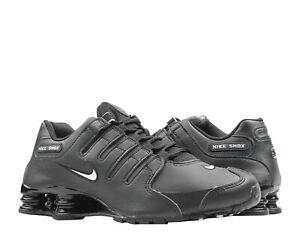 best service 6a6e5 7de0f Image is loading Nike-Shox-NZ-EU-Black-White-Men-039-