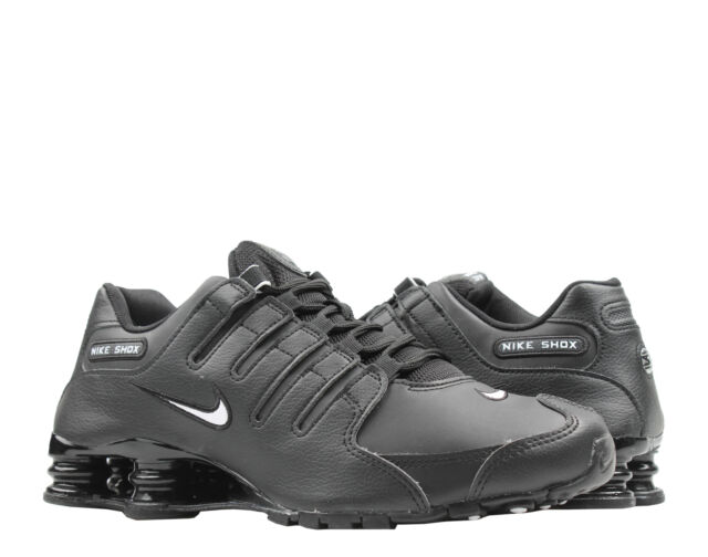 new products 4d784 2bb6c Nike Shox NZ EU Black White Men s Running Shoes 501524-091