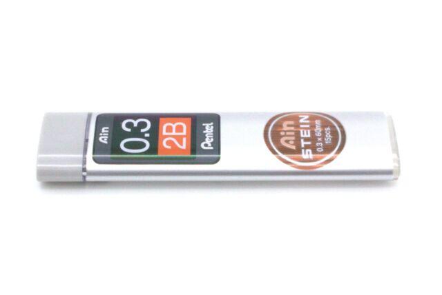 Pentel Druckbleistift Feinmine AIN STEIN C277 Härtegrad 2B 40 Minen