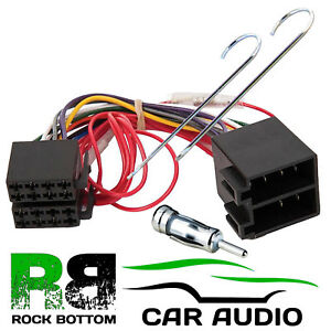 ford ka mk2 2009 u003e car stereo radio iso wiring harness adaptor lead rh ebay co uk