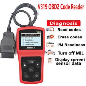 Auto Diagnostic Engine Tools Scanner Code Reader Car Vehicle Display Sensors