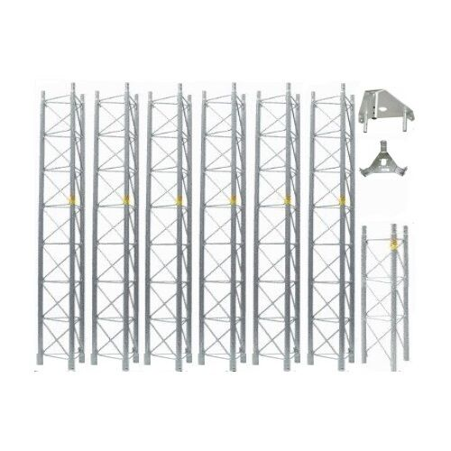 ROHN 55G Tower 60' ft Self Supporting Tower 55SS060 Freestanding ROHN 55G Tower. Buy it now for 3283.01