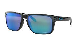 Oakley-Holbrook-XL-Sunglasses-OO9417-0359-Black-Frame-W-PRIZM-Sapphire-Lens