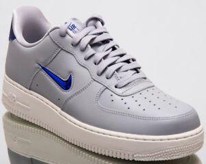 Details about Nike Air Force 1 '07 LV8 Leather Jewel Men New Grey Lifestyle Shoes AJ9507 002