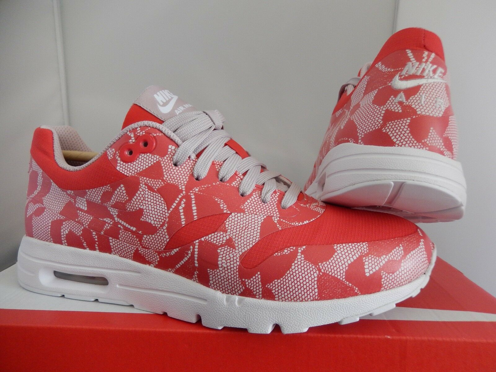 a620933329100 Nike WMNS Air Max 1 One Ultra SP 789564-661 Light Crimson Champagne DS Size  8