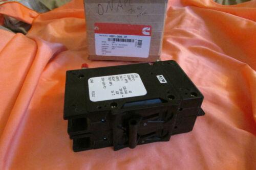GENUINE ONAN CUMMINS 320-1689-57 CIRCUIT BREAKER 0320-1689-07 FREE S/&H
