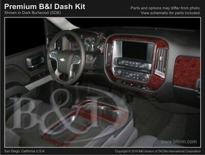 GMC Sierra 1500 2014-2018 Dash Kit Trim Set for Chevrolet Silverado 1500