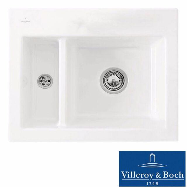 Villeroy & Boch Subway 60 XM 1.5 Bowl White Ceramic Kitchen Sink ...