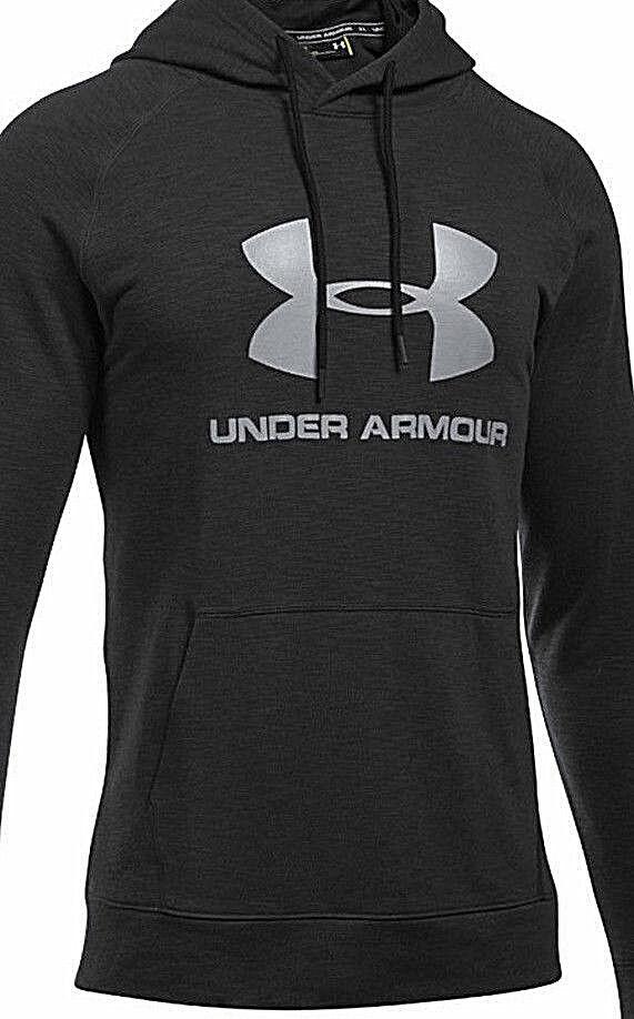 NEU Under Armour Coldgear Men Hoodie Kapuzen Sweatshirt XL anthrazit