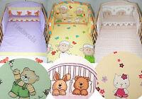 2 T. Bettwäsche Babybettwäsche, Kissenbezug, Kinderbettwäche, Bettset