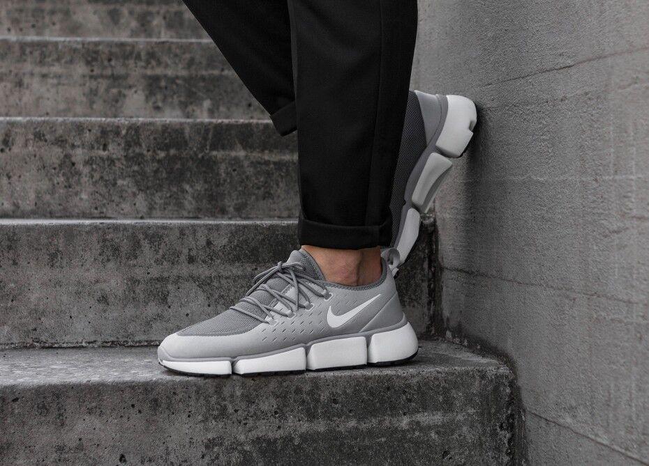 110 Nike Pocket Fly DM Running Training shoes Athletic Gym Wolf Grey AJ9520-005