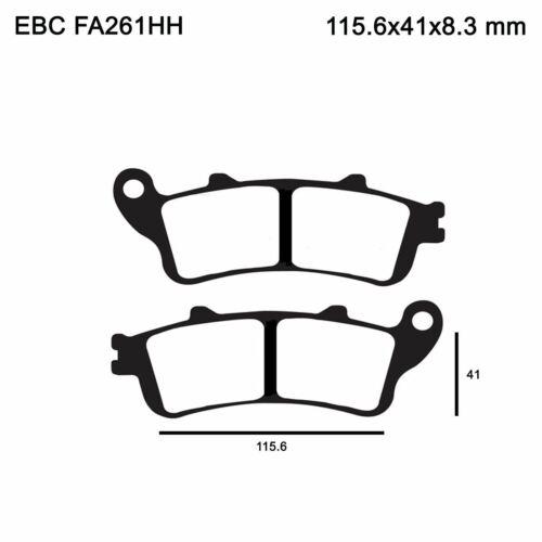EBC FA261HH Sintered Motorcycle Brake Pads Set