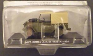 CARABINIERI-Alfa-Romeo-A-R-51-MATTA-1954-1-43-Centauria-die-cast-model-sealed