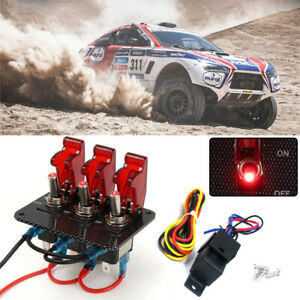 TedGem 12V 20A Car Auto Round Rocker ON//OFF Toggle SPST Switch with blue Led...