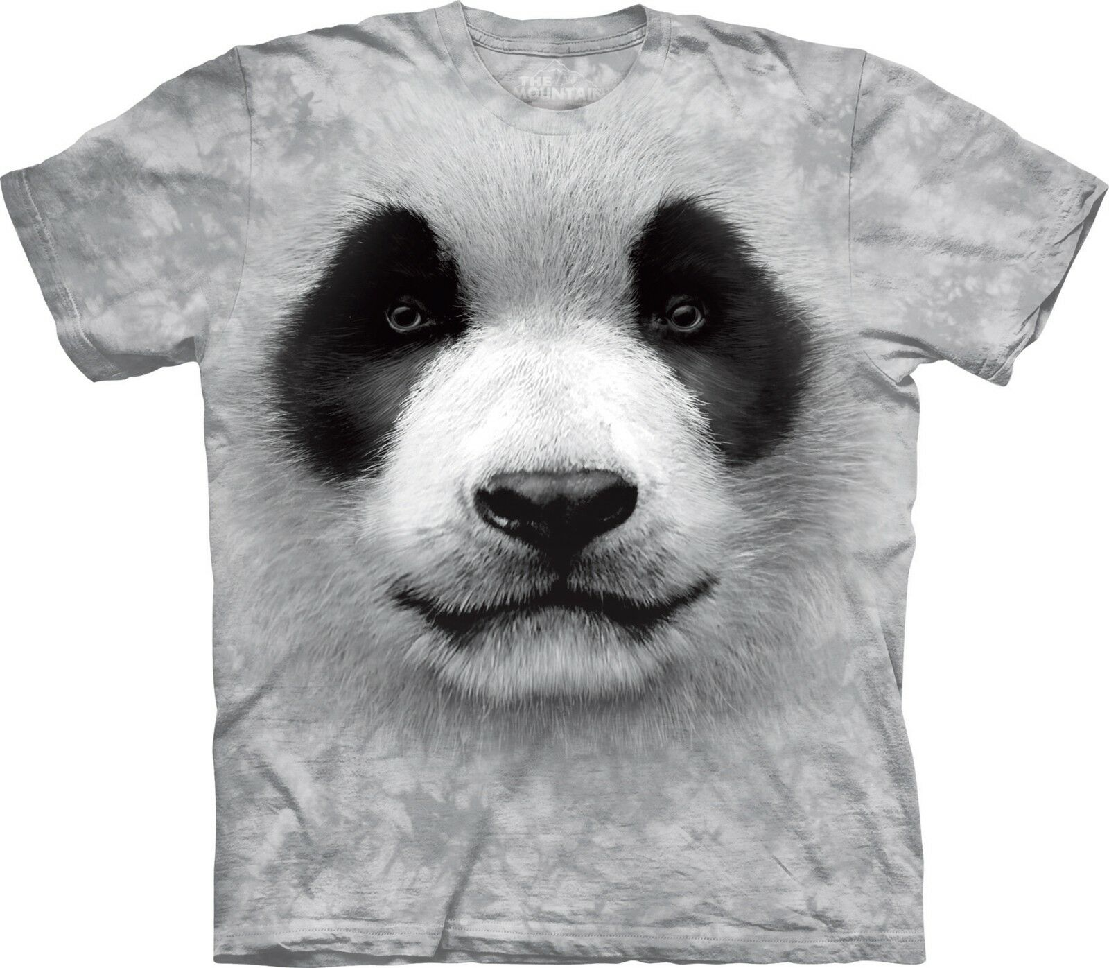 Big Face Panda Animal T Shirt Adult Unisex The Mountain