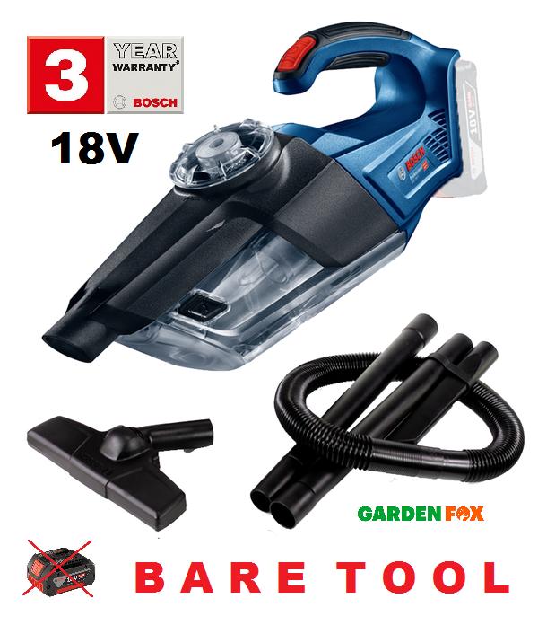 Les épargnants Bosch GAS18V-1 - BARE OUTIL-Aspirateur 06019C6200 3165140888677 D