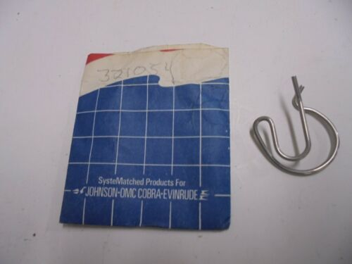 Genuine OMC Johnson Evinrude Spring Clip #321054 New #0321054