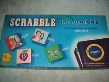 VINTAGE 1958 SCRABBLE FOR JUNIORS CROSSWORD SELCHOW RIGHTER UNUSED NEW