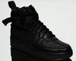check out 48f16 5f737 Das Bild wird geladen Nike-Sf-Air-Force-1-Mid-Af1-Herren-