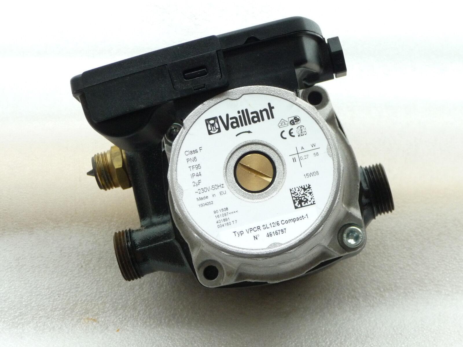 Wilo Vaillant VPCR SL 12 / 6 Heizungspumpe Heizungspumpe Heizungspumpe 140 mm  230 Volt gebraucht P58/18 a1bab1