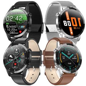 Smartwatch Uomo 2021 Chiamate Bluetooth Social App Fitness Tracker Salute ECG